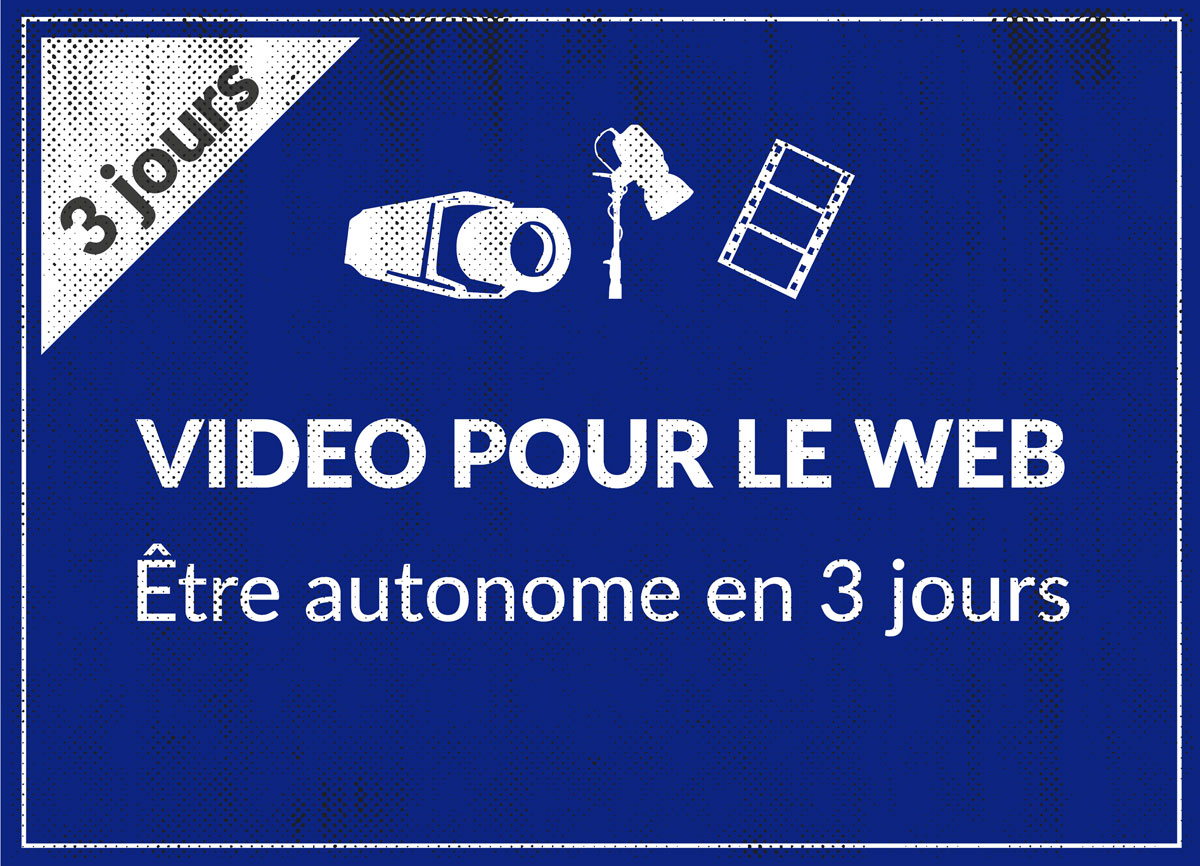 Formation video pour le web